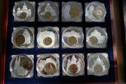 EU Währungen Inlay-