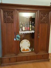 Wohnzimmerschrank Antik In Burstadt Haushalt Mobel Gebraucht