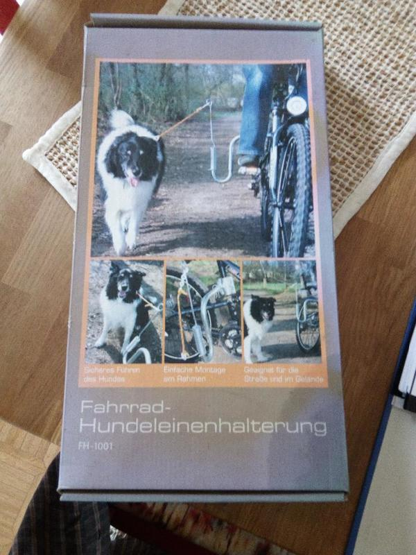 Fahrrad-Hundeleine-Halterung