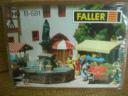 Faller 581 Stadtbrunnen Fountain H0