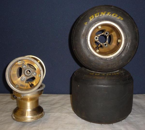 Felgensatz 130 210 mm Magnesiumfelgen
