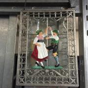 Fensterbild aus Zinn Bayern 2