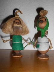 Figuren aus dem Erzgebirge