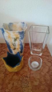 Filz Vase Filz Kerzenhalter oder