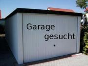 Garage gesucht in