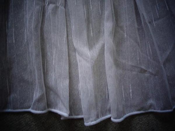Gardinen Store weiß 2 Stück