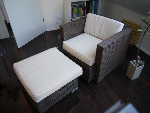 garten lounge-sessel + hocker in backnang - gartenmöbel kaufen und, Garten Ideen