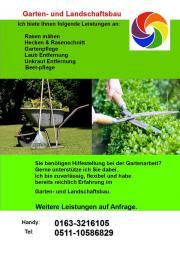 Gartenpflege Gartenarbeit Rasenmähen