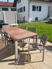 Gartentisch mit 10