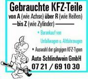 Gebrauchte KFZ-Teile
