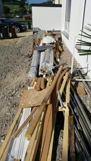 Gipsplatten und Baumaterialien
