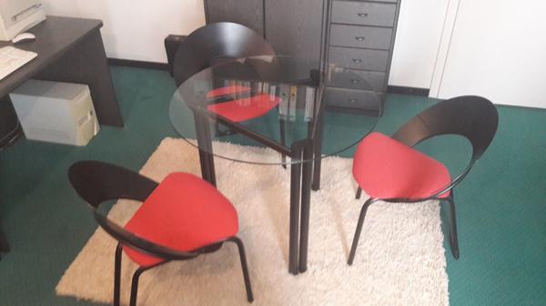 glastisch stuhlen gebraucht kaufen nur 3 st bis 70 g nstiger. Black Bedroom Furniture Sets. Home Design Ideas
