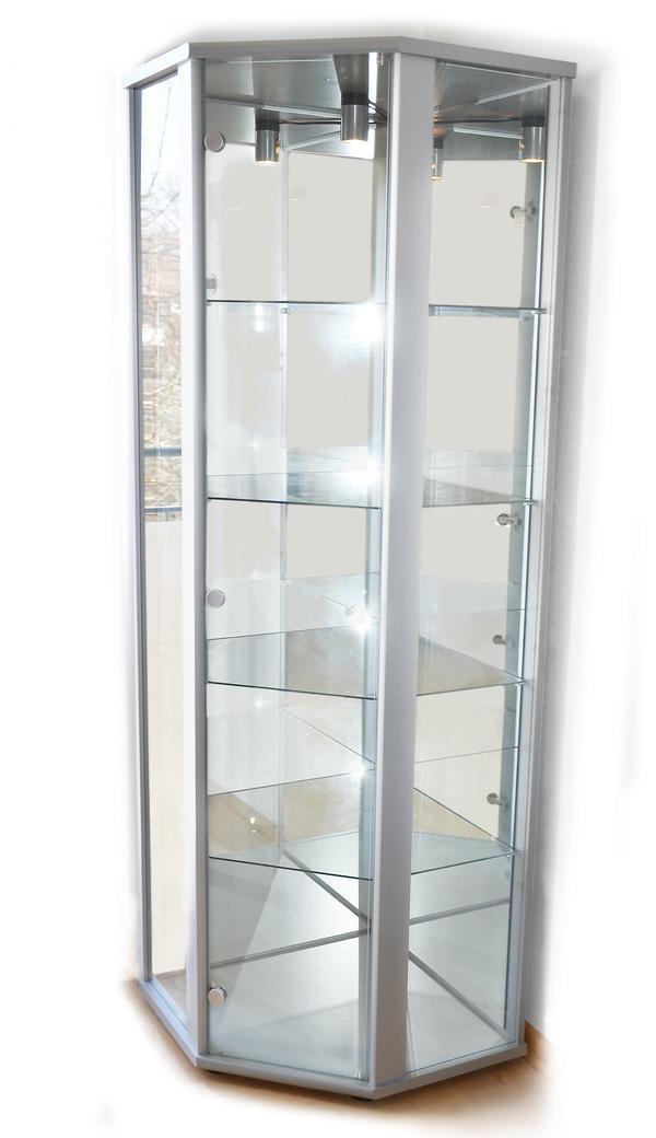 glasvitrinen beleuchtung neu und gebraucht kaufen bei. Black Bedroom Furniture Sets. Home Design Ideas