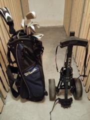 Golfausrüstung komplett - Schlägerset,
