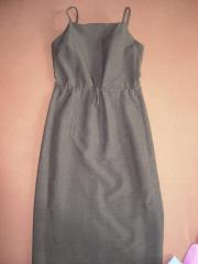 grau-grünes Sommerkleid (
