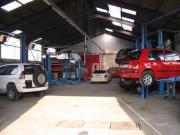 Große KFZ-Werkstatt