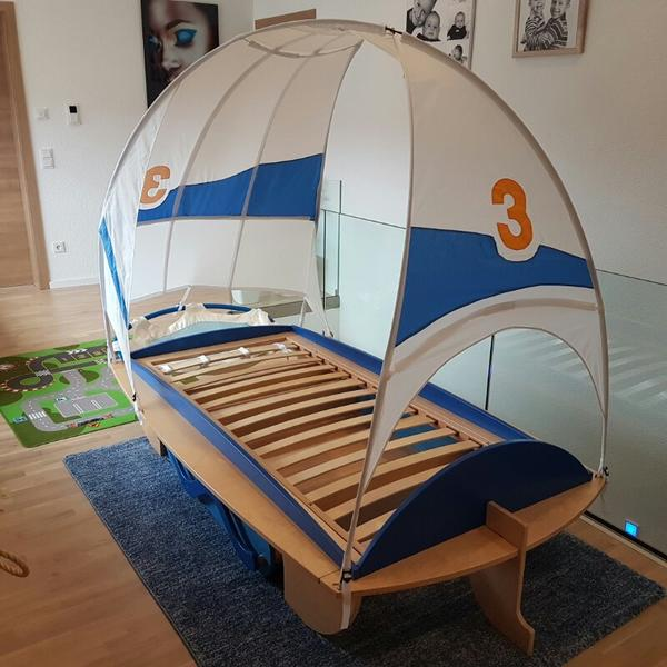 Haba bett windjammer segelschiff in syrgenstein kinder for Jugendzimmer quoka