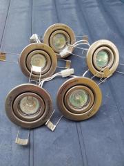Halogen-Einbaustrahler 20 Watt Edelstahloptik