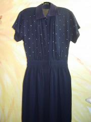 handgef Kleid Gr 36