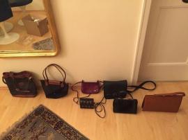 Taschen, Koffer, Accessoires - Handtaschen 10 Stück Leder bis