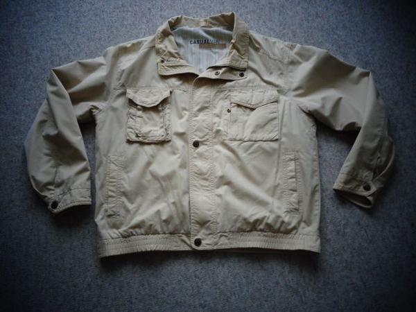 Herrenbekleidung Jacke Blouson Gr 50