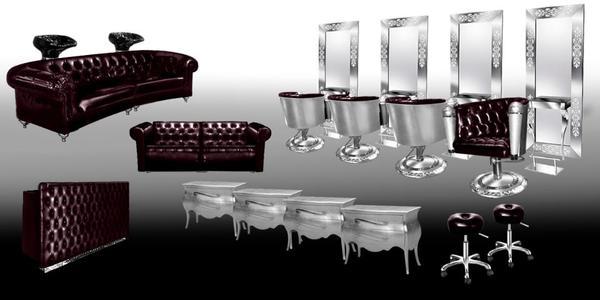 herrliche friseureinrichtung f r ihr salon in bonn kosmetik und sch nheit kaufen und. Black Bedroom Furniture Sets. Home Design Ideas