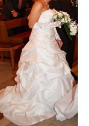 Hochzeitskleid weiß gr.