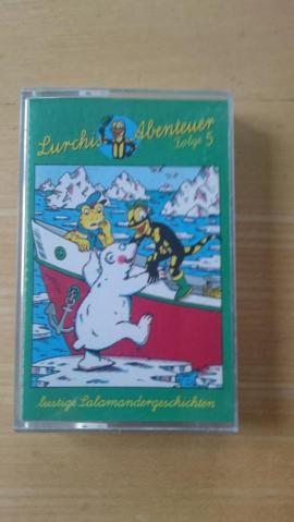 Bild 4 - Hörspielkassetten Lurchi und andere 8 - Schechen