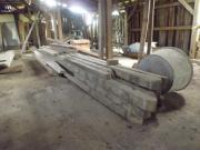 Holz Balken aus