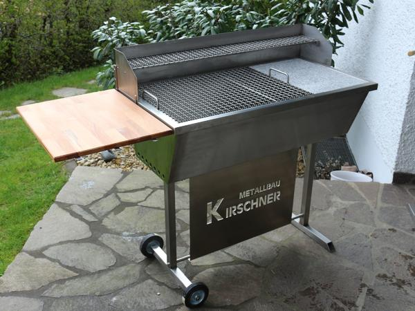 holzkohlegrill edelstahl grill smoker bbq fischgrill mangal steckerlfischgrill v2a grill xxl in. Black Bedroom Furniture Sets. Home Design Ideas