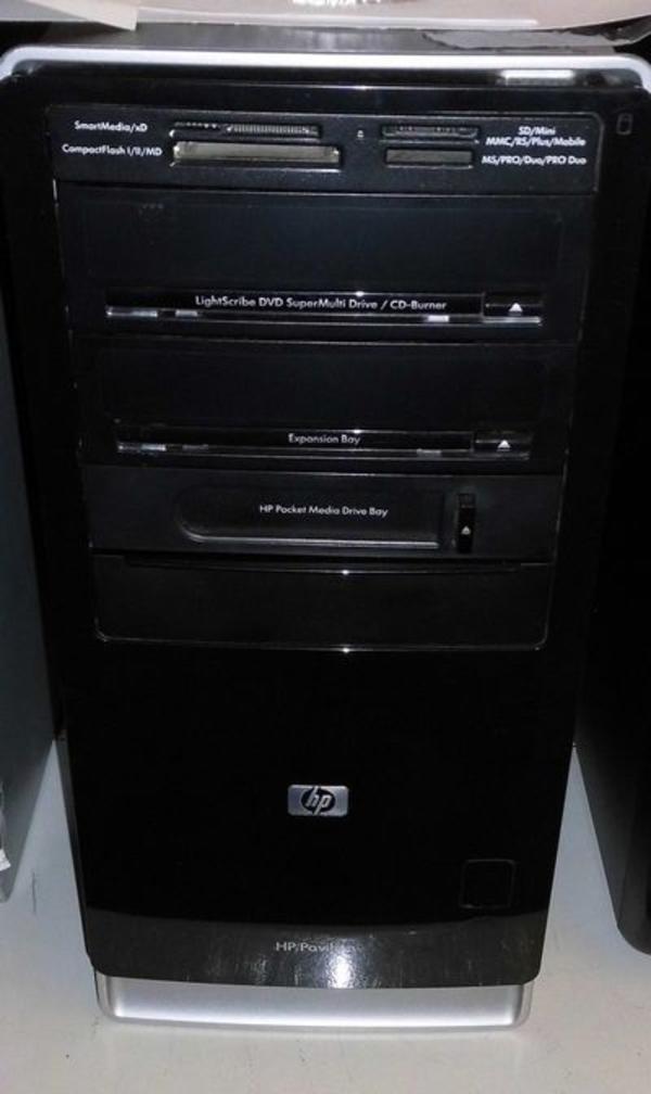 HP-PC 6-Kern 4GHz, Geforce 2048MB HDMI/DVI/DP GrKa, 8GB RAM, 1000GB HDD, WLAN, Cardr. , 5. 1HDA, Win10 - Kirchheim - HP-Computer mit 6-Kern Prozessor mit bis zu 6x 4100MHz, läuft mit einer neuen Win10 Pro 64bit Installation mit allen Updates und aktuellsten Treibern, nVidia Geforce 2048MB Grafik-Karte (HDMI/DVI/DisplayPort), 8GB DDR3 RAM, 1000GB Festplatte  - Kirchheim