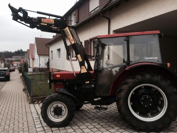 ihc case 733 a mit frontlader in karlsbad traktoren. Black Bedroom Furniture Sets. Home Design Ideas