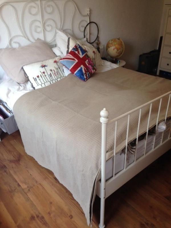 ikea gardine beige bjornloka gebraucht kaufen nur 4 st bis 65 g nstiger. Black Bedroom Furniture Sets. Home Design Ideas
