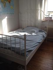 ikea leirvik bett weiss ka ln gebraucht kaufen nur 2 st bis 75 g nstiger. Black Bedroom Furniture Sets. Home Design Ideas