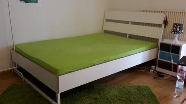 Cheap Ikea Bett X Weis Ikea Bett Wei Mit Lattenrost Fast Wie Neu In  Freising With Ikea Kinderbett Metall Wei With Betten Wei With Kinderbett Metall  Wei