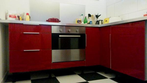 Ikea Hochglanz Küche