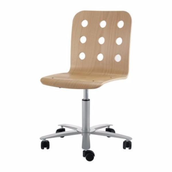 Drehstuhl ikea weiß  IKEA JULES Drehstuhl Bürostuhl Schreibtischstuhl Holz !!! in ...