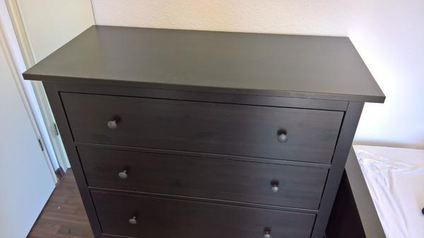 hemnes kommode ikea weia a a a a a a gebraucht kaufen nur. Black Bedroom Furniture Sets. Home Design Ideas