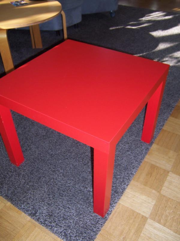 Beistelltisch ikea neu und gebraucht kaufen bei for Schreibtisch rot lack