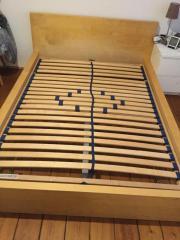 Ikea malm bett eiche  Ikea Malm Bett in Dormagen - Haushalt & Möbel - gebraucht und neu ...