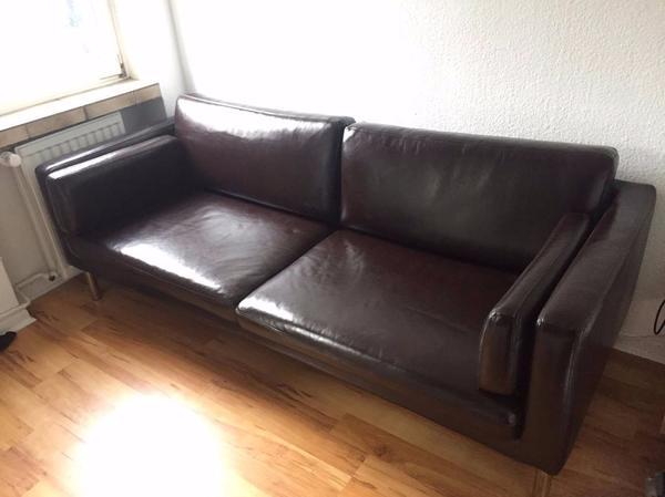 IKEA STER Leder Polster Sessel Couch