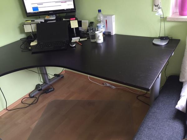 schreibtisch galant neu und gebraucht kaufen bei. Black Bedroom Furniture Sets. Home Design Ideas