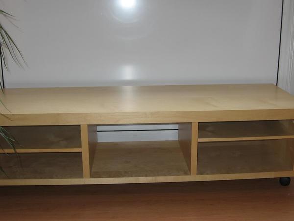 Tv möbel ikea birke  Ikea TV-Bank 'Oppli' in Birkenfurnier in München - IKEA-Möbel ...