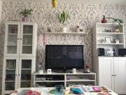 Ikea Wohnzimmer Vitrine Schrank Sideboard Regal Weiss In