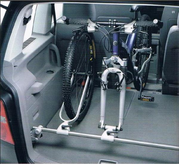 innenraum fahrradtr ger f r vw touran sharan u a in. Black Bedroom Furniture Sets. Home Design Ideas