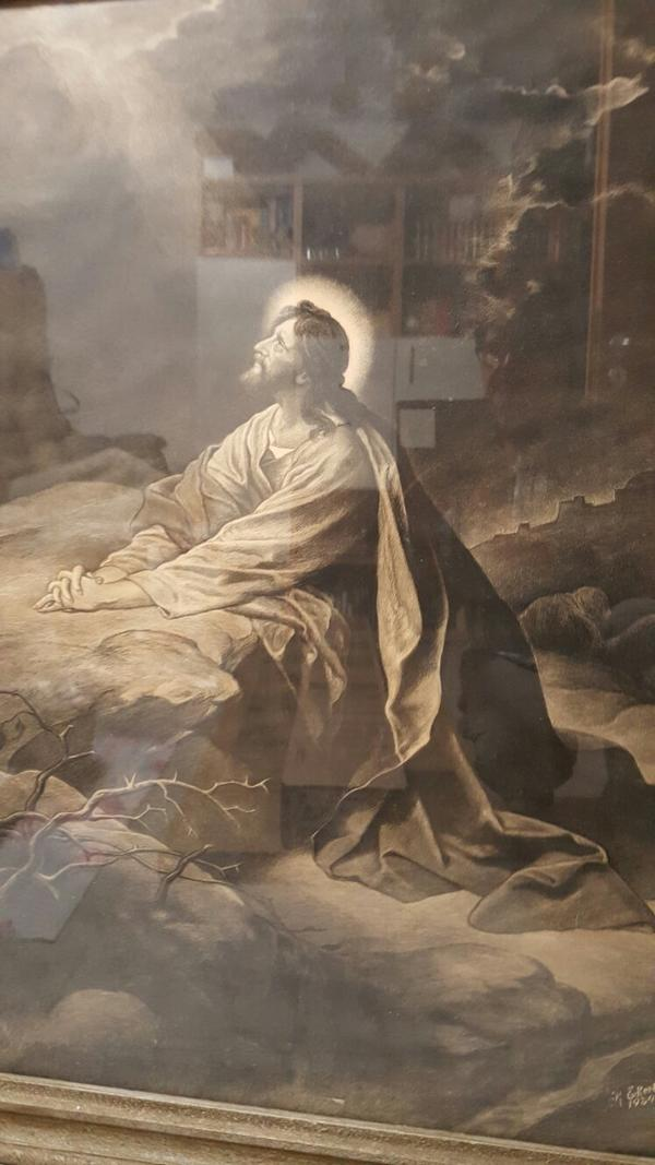 Jesus Im Garten Gethsemane In Altlußheim Kunst Gemälde Plastik