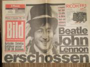 John Lennon -10 Dezember 1980