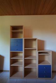 Jugendzimmer-Möbel Buche