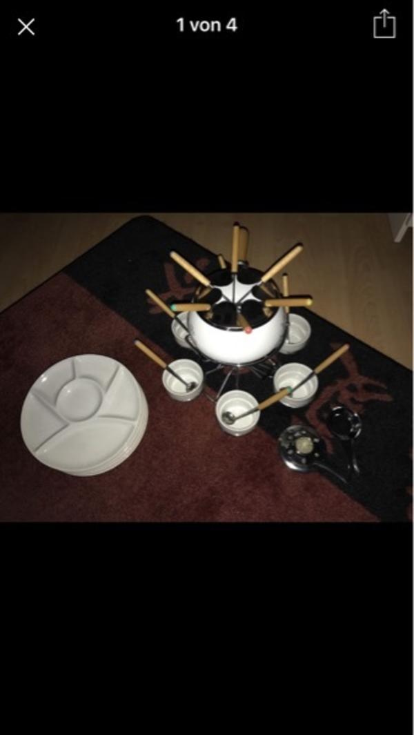 fondue zubehor gebraucht kaufen nur 2 st bis 65 g nstiger. Black Bedroom Furniture Sets. Home Design Ideas