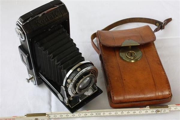 Kamera Kodak Vollenda 620 - Vogtareuth Reipersberg - Kamera Kodak Vollenda 620 mit Ledertasche. Keine Gewährleistung. Bitte machen Sie mir ein Angebot. - Vogtareuth Reipersberg